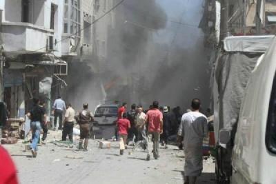 Rus Uçakları İdlib'i vurdu!
