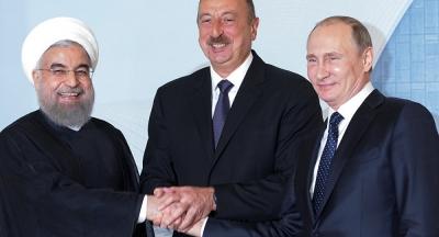 Rusya, İran ve Azerbaycan liderlerinden ortak bildiri