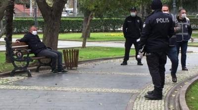 Samsun'da Koronavirüs Testi Pozitif Çıkan Şahıs Parkta Otururken Bulundu