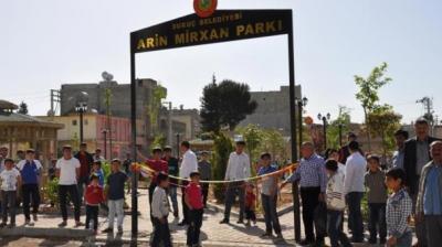 Suruç'taki parka canlı bombanın ismi verildi