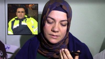Şehit polis Fethi Sekin'in eşi konuştu: 'Vatan Sağolsun'