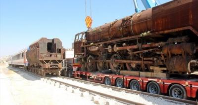 Soma'nın lokomotifleri Gaziantep'te müze oluyor!