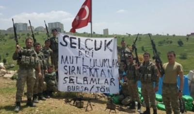Sümeyye Erdoğan'dan askerlere teşekkür mesajı