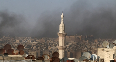 Suriye'nin Türkiye sınırına yakın yerinde patlama