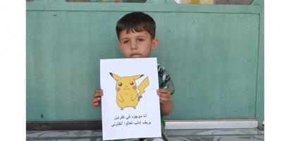Suriyeli Çocuklar 'Pokemon' oldu