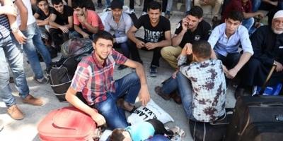 Suriyeli mülteciler Cerablus'a geçmeyi başardı