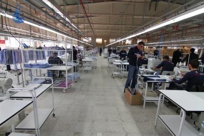 Sinop Cezaevi tekstil üretiminde firmaları geride bıraktı