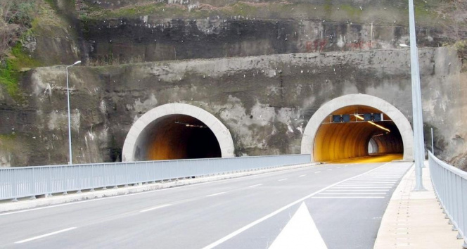 Tüneller şehri Ordu