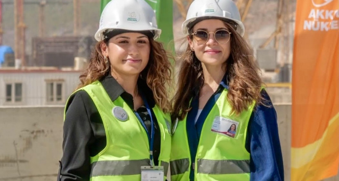 Türkiye'nin ilk nükleer santralinde bin 41 kadın sahada çalışıyor
