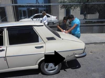 Üsküdar'da korkutan araç!