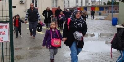 Valilik açıkladı: Yağmur nedeniyle eğitime bir gün ara