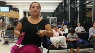 Viyana Havalimanı'nda Türk yolcular mahsur kaldı