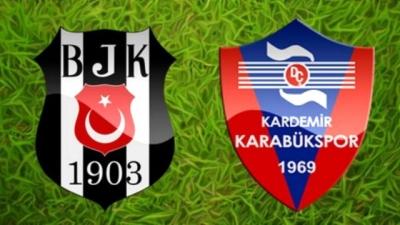 Beşiktaş  3 - 1 Karabükspor