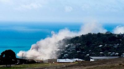 Yeni Zelanda'da depremin ardından Tsunami