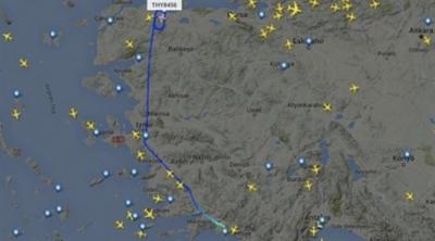 Yunan medyası: Erdoğan'ın uçağı takip edilmedi