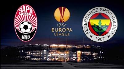 Zorya Luhansk 1 - 1 Fenerbahçe