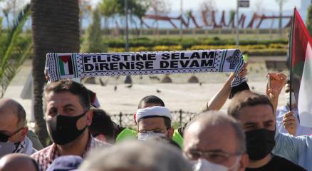 İzmirli STKlardan İsraile tepki